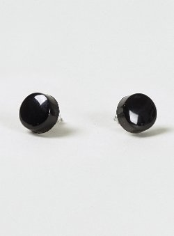 Topman - Plastic Black Earrings