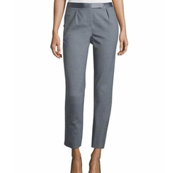 Halston Heritage - Slim-Fit Cropped Pants