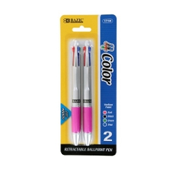 Bazic - Top 4-Color Pen