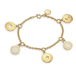 Marc Jacobs - Cutout Cosmic Coins Charm Bracelet