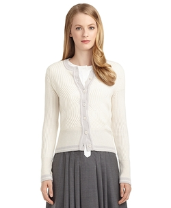Brooks Brothers - Cashmere Cable Knit Cardigan