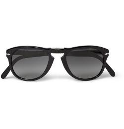 PERSOL   - Steve McQueen Folding Acetate Sunglasses