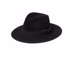 Saint Laurent  - Chapeau Bowie Hare Fedora Hat