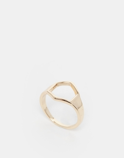 Asos - Open Hexagon Ring