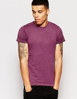 Antioch  - Muscle T-Shirt In Oil Wash