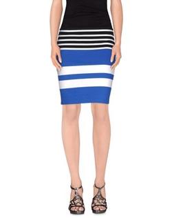 T by Alexander Wang - Stripe Mini Skirt