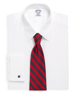 Brooks Brothers - Fit Point Collar French Cuff Dress Shirt