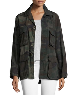 Etienne Marcel  - Camouflage Army Jacket
