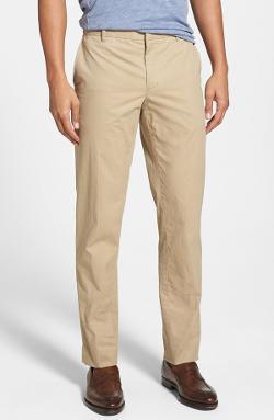 Vince - Straight Leg Cotton Trousers