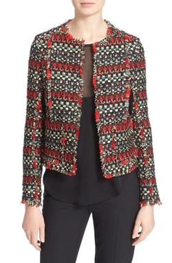 Truth & Pride - Stripe Tweed Blazer