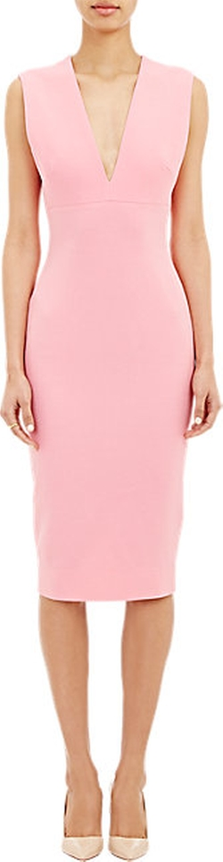 Victoria Beckham - Crepe Sleeveless Dress