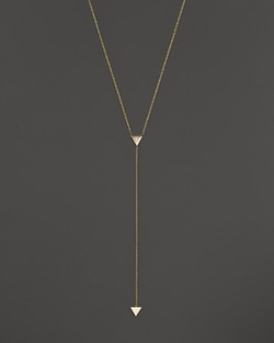Zoë Chicco - 2-Triangle Lariat Necklace