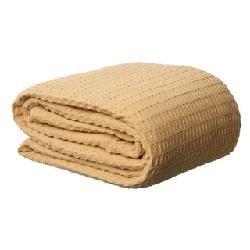 overstock - Heavyweight Waffle Weave Cotton Blanket