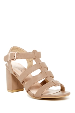 Top Guy - Deam Multi Strap Heel Sandals