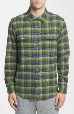 Obey  - Collins Plaid Flannel Shirt