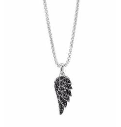 John Hardy - Sapphire Eagle Wing Pendant Necklace