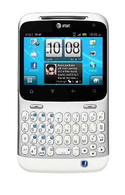 HTC - Status ChaCha A810a Qwerty Keyboard Phone