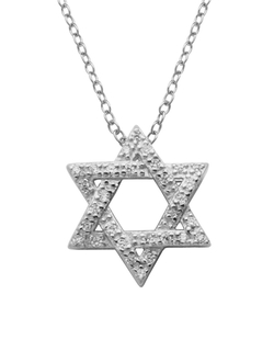 Lord & Taylor - Star of David Pendant Necklace