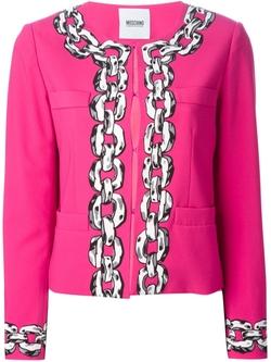Moschino Cheap & Chic  - Chain Print Jacket