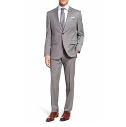 Ted Baker London  - Jay Trim Fit Solid Wool Suit