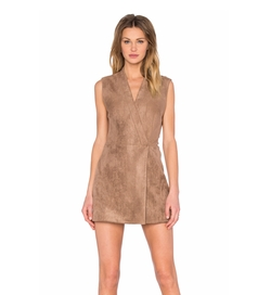 BCBGMAXAZRIA - Caryn Faux Suede Dress