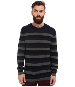 French Connection  - Merino Stripe Knit Sweater