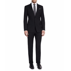 Armani Collezioni - G-Line New Basic Two-Piece Wool Suit