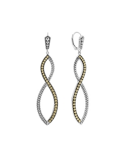 Lagos - Infinity Double-Twist Earrings