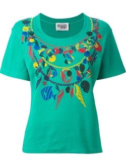 Missoni Vintage - Shell Print T-Shirt