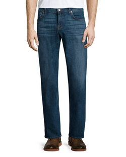 "7 For All Mankind  - Brett ""A"" Pocket Denim Jeans"
