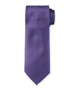 Brioni - Neat Floral & Box-Print Silk Tie