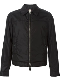 Burberry London - Classic Collar Zip Jacket