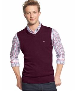 Tommy Hilfiger - V-Neck Sweater Vest