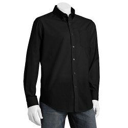 Croft & Barrow - Easy Care Striped Button-Down Collar Dress Shirt