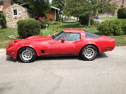 Chevrolet - 1981 Corvette Coupe Car