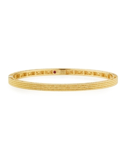 Roberto Coin - Symphony Collection Stacked Barocco Bangle