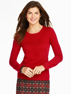 Talbots - Cashmere Crewneck Sweater