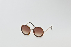 AEO - Tortoise Shell Round Sunglasses