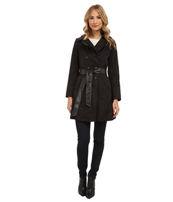 DKNY - Double Breasted Belted Trench Coat