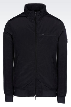 Armani Jeans - Blouson Jacket in Technical Fabric
