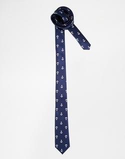 Asos - Anchor Print Tie
