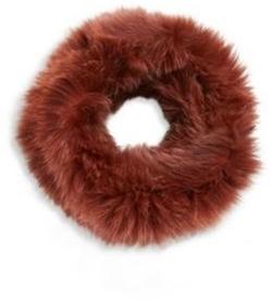 Loeffler Randall - Fox Fur Cowl Scarf