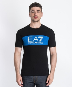 Emporio Armani - Train Graphic Colour Block T-Shirt