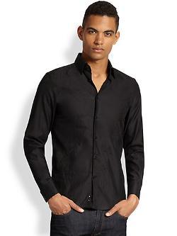 Versace Collection  - Jacquard Dress Shirt