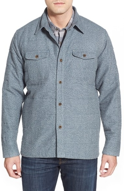 Quiksilver - Quilted Shirt Jacket