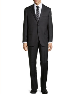 Hickey Freeman   - Lindsey Two-Piece Pinstripe Suit