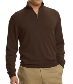 Signature Merino  - Half-Zip Sweater