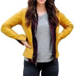 Faux Leather - The Teenage Mutant Ninja Turtle Megan Fox Jacket.