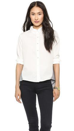 Clu  - Ruffled Shirt