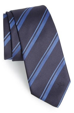 Burberry London  - Stripe Silk Tie